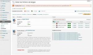Choix du thème ou plugin WordPress à traduire avec Codestyling Localization