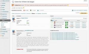 Modifier les fichiers à traduire avec Codestyling Localization, plugin WordPress