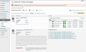 Rescanner avec le plugin de traduction WordPress Codestyling Localization