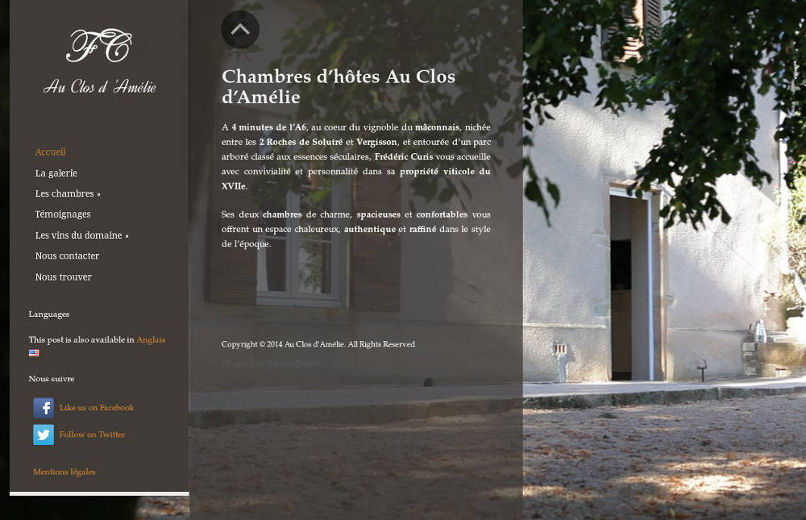 Chambres d'hôtes Au Clos d'Amélie