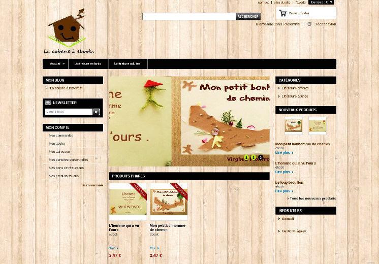 Vente en ligne de livres pour enfants